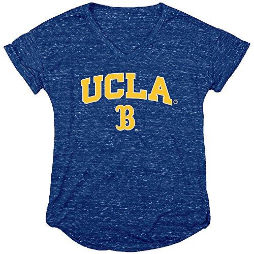 UCLA Bruins Womens Vneck Tshirt Blue - L (Fan Ucla Bruins)