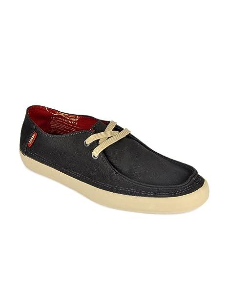 6fcbb92bc0 Vans Men Black Rata Vulc Casual Shoes (7UK)  Buy Online at Low ...