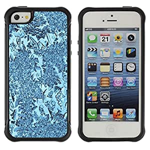"Hypernova Defender Series TPU protection Cas Case Coque pour Apple iPhone SE / iPhone 5 / iPhone 5S [Planta Naturaleza Forrest Flor 58""]"