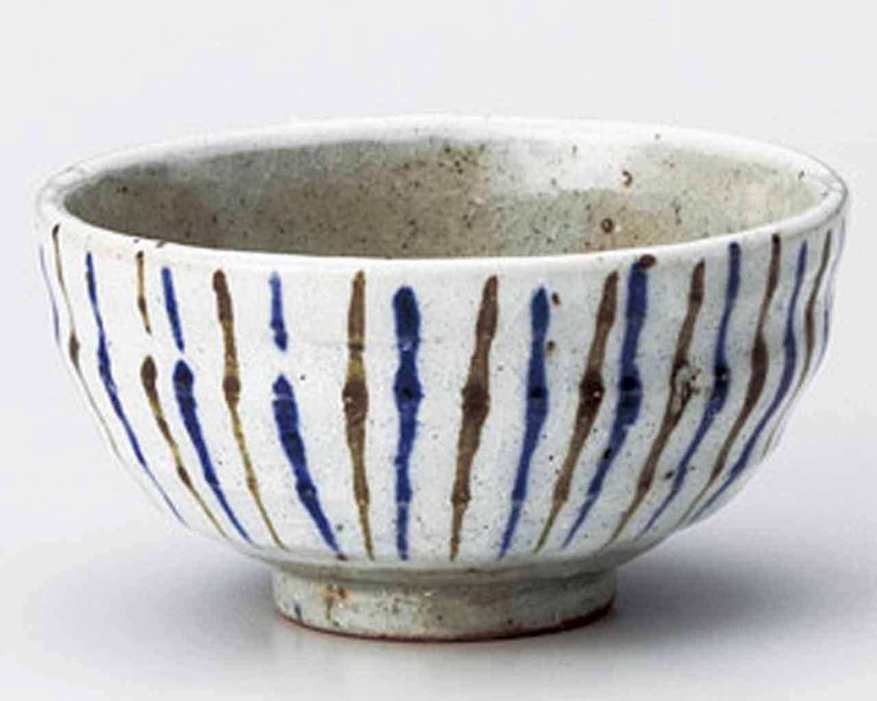 Tokusa 4.6inch Set of 2 RICE-BOWLs Grey Ceramic Made in Japan watou.asia 4562495479601