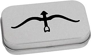 80mm 'Arco e Freccia' Contenitore Tin / Scatola di Latta (TT00084937)