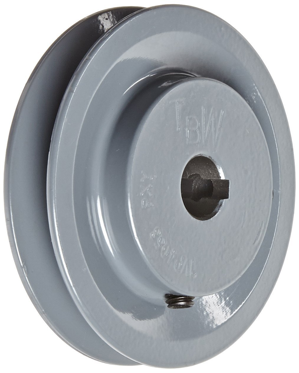 Gates 1VP60 Light Duty Variable Pitch Sheaves, 6'' OD, 1 Groove, 1-1/8'' Bore