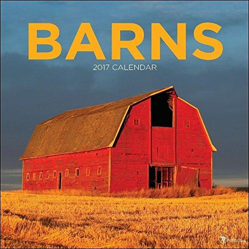 TF Publishing 2017 Monthly Wall Calendar - Barns