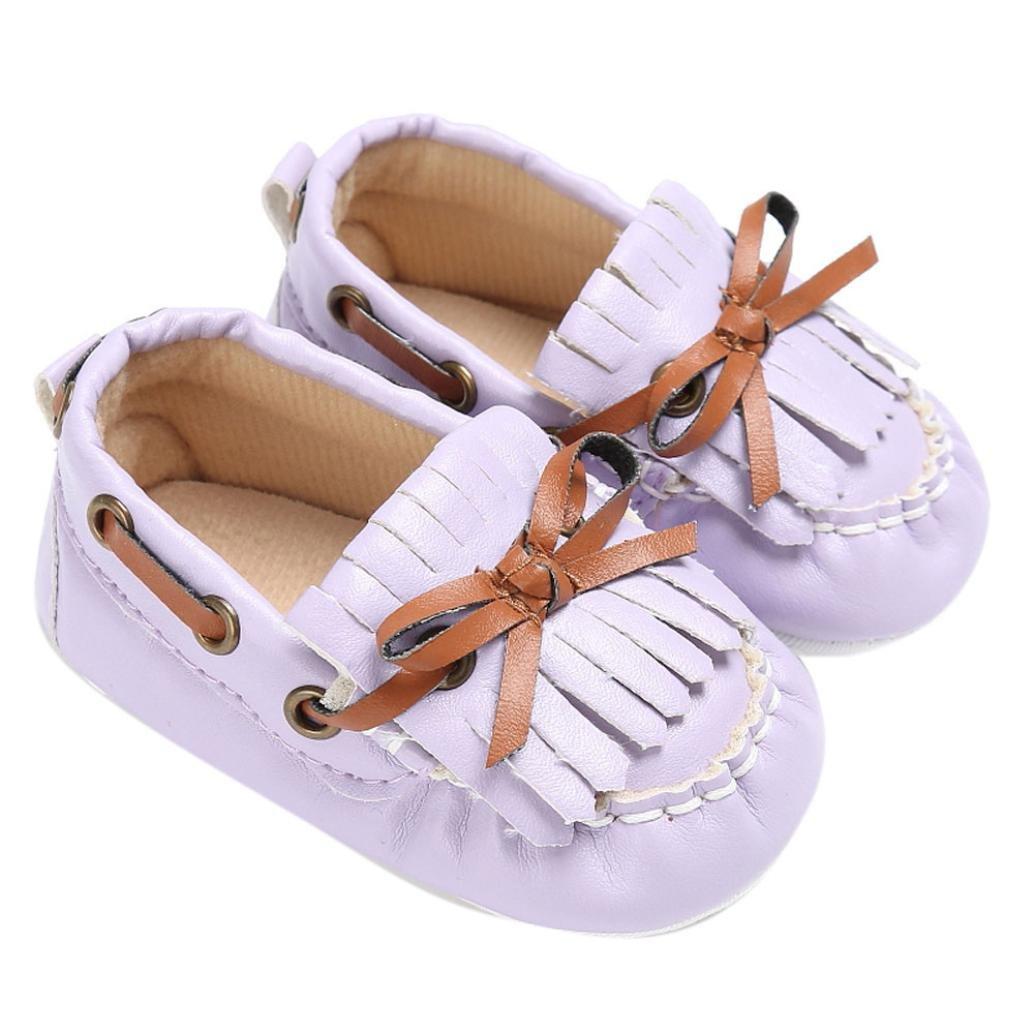 OverDose Unisex-Baby Weiche Warme Sohle Leder//Baumwolle Schuhe Infant Jungen-M/ädchen-Kleinkind Schuhe 0-6 Monate 6-12 Monate 12-18 Monate