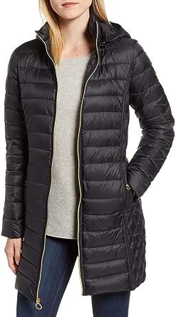W1768 Fashion Warm Comfortable Embroidery Turn-Down Collar Long Sleeves Pockets Animals Black Women Long Coat
