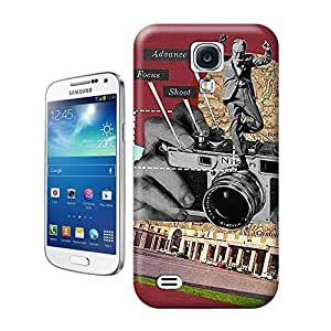 Unique Phone Case Advance Focus Shoot Sammy Slabbinck retro nostalgic collage design Hard Cover for samsung galaxy s4 cases-buythecase