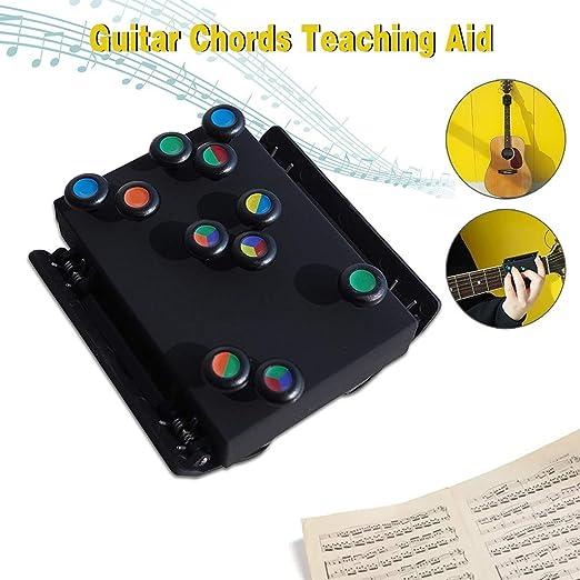 ChordBuddy Black Chromatic Clip-On Guitar Tuner