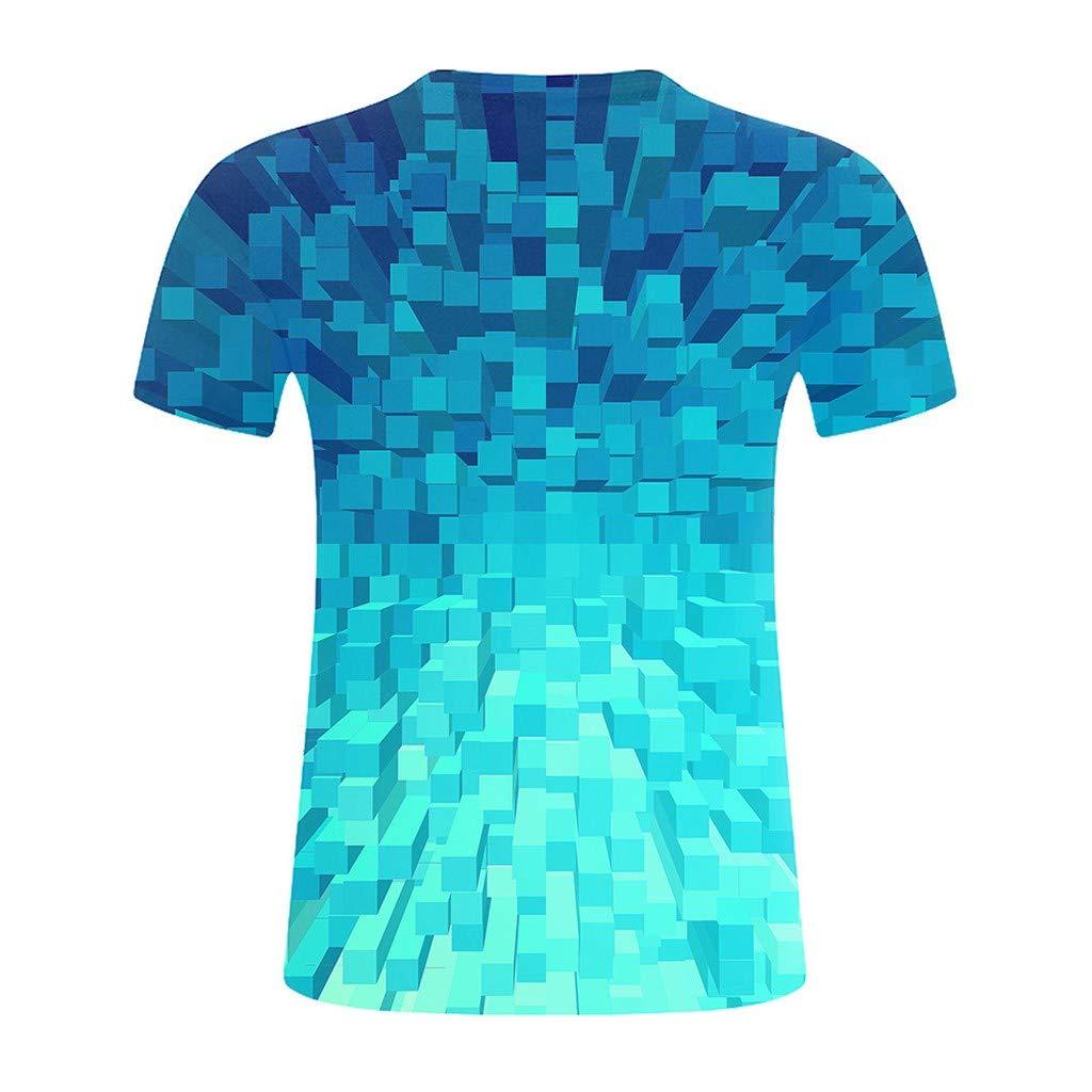 erthome - Camiseta de Manga Corta para Hombre Azul (L4) EU: Amazon ...