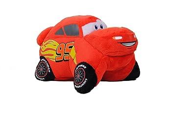 Pillow Pets Pee Wees Disney/Pixar Cars 2 Movie Lightning McQueen  sc 1 st  Amazon.com & Amazon.com: Pillow Pets Pee Wees Disney/Pixar Cars 2 Movie ... azcodes.com