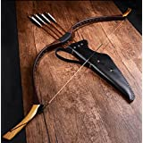 Traditional Mongolian Bows Archery Competition Reverse Bow Leather