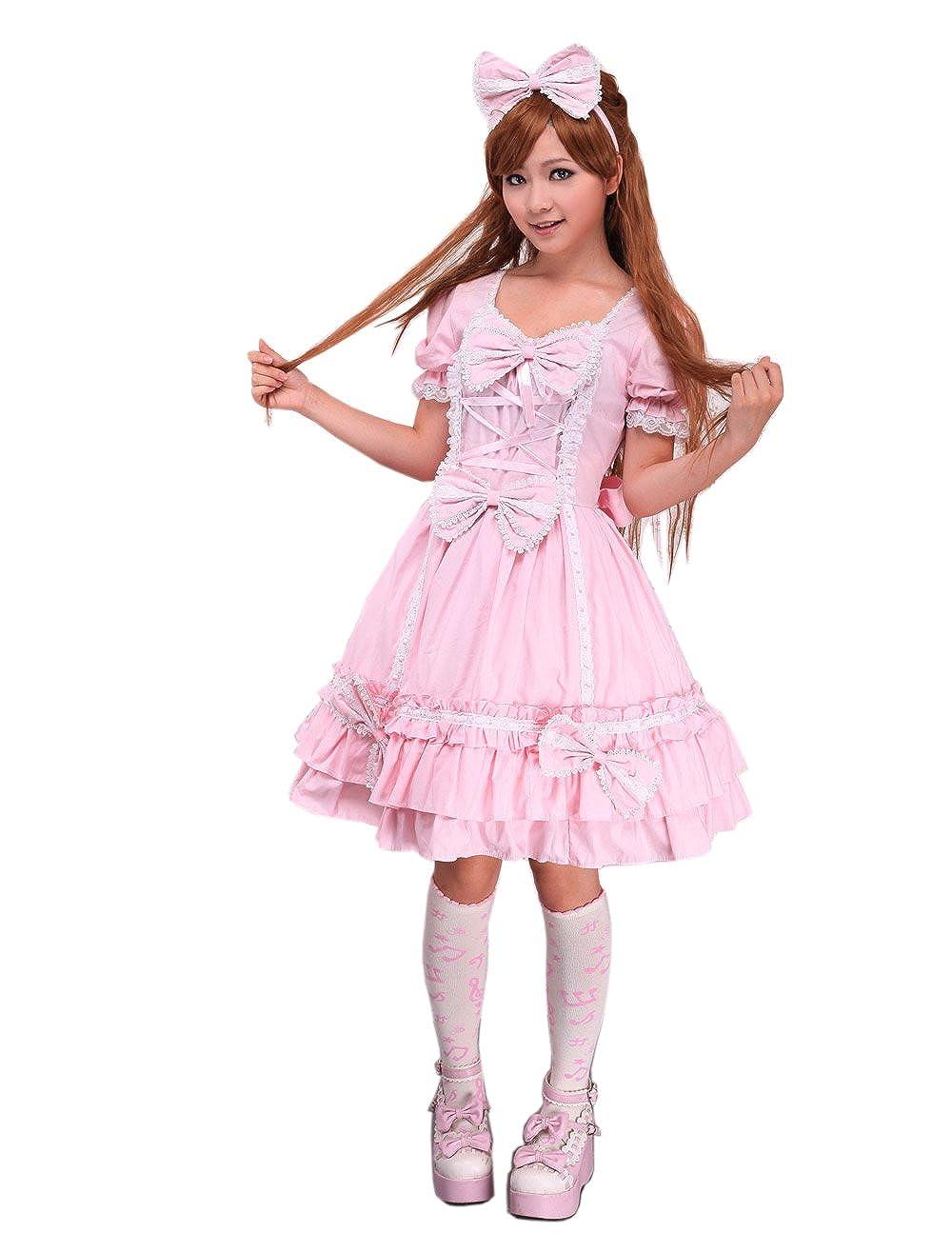 antaina Vestido de Lolita y Vestido de Lolita Victoriana de Encaje ...