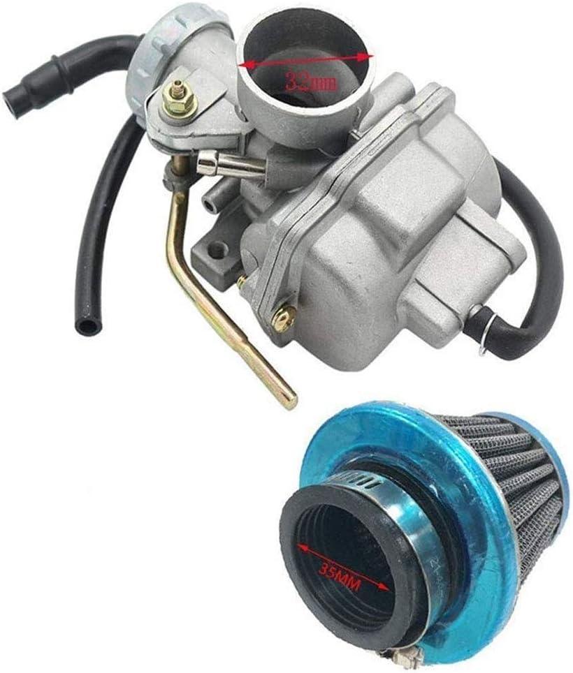 Cheniess PZ20 carburatore Carb Fit for 49cc 70cc 90cc 100cc 110cc 125cc Coolster NST Cinese ATV Strumento di Auto