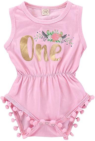 Newborn Baby Girl 2PCs Floral Print Romper Playsuit Jumpsuit+Headband Outfit Clothes Set oldeagle Baby Romper Bodysuit
