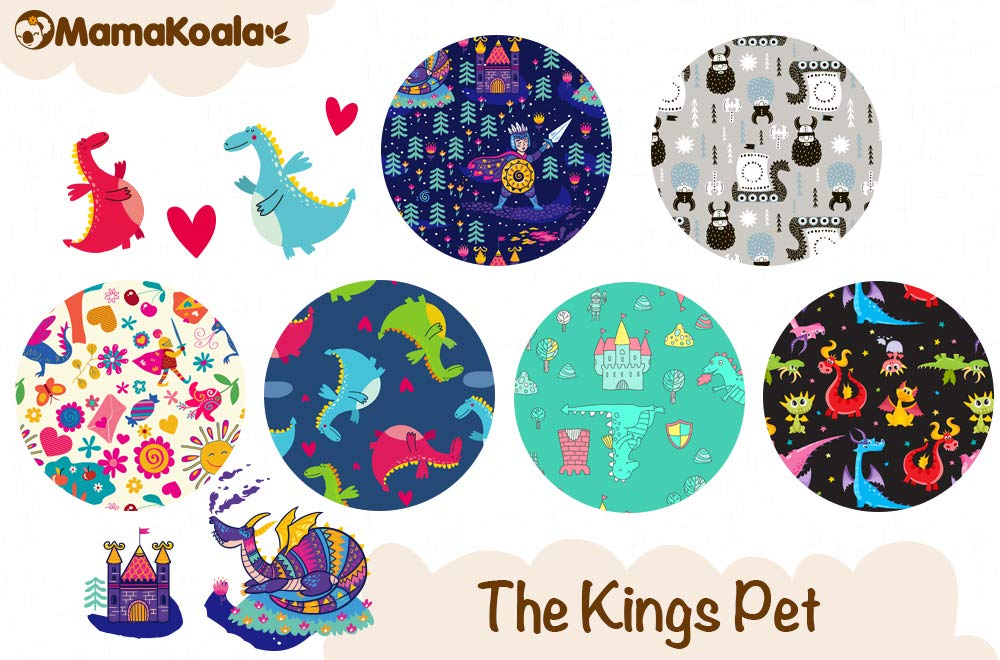 6 Pack with 6 One Size Microfiber Inserts Mama Koala One Size Baby ...