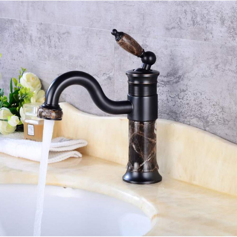 Short Black DFRQJHQGH New Style Body Bathroom Basin Faucet Brass Mixer Tap gold Sink Faucets Single Handle Basin Faucet pink gold Black