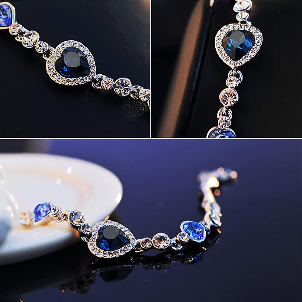 Bracelet Krystal Heart Shape P...