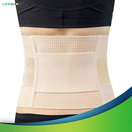 LifeShop X-Strong German Tech Improved Posture Corrector Thermal  Compression Back Brace for Lumbar Support - Relief for Back Pain, Herniated  Disc,
