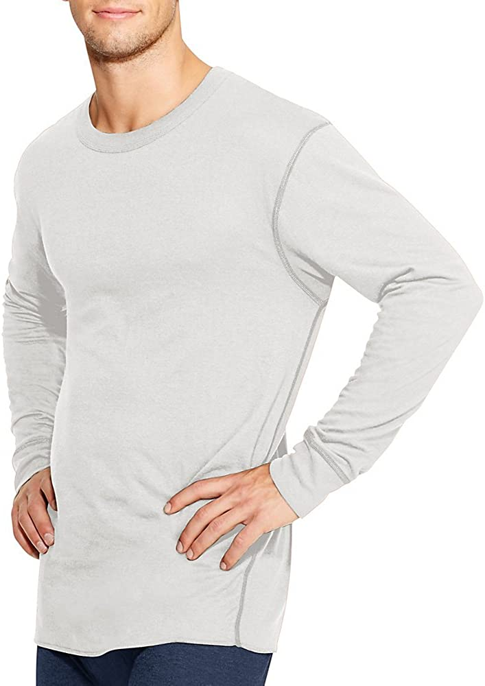 Champion Duofold Mens Long Sleeve Thermal Base Layer Mid Weight Shirt Wicking