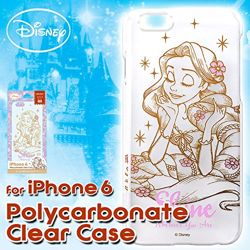 iPhone 6(non 6Plus) Transparent Étui–Disney–Raiponce