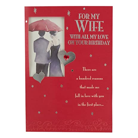 Amazon wife birthday birthday greetings cards office products wife birthday birthday greetings cards m4hsunfo