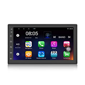 Panlelo S2,2 DIN unità Android 7.1 navigazione Car Stereo Audio Radio GPS 1080p Video