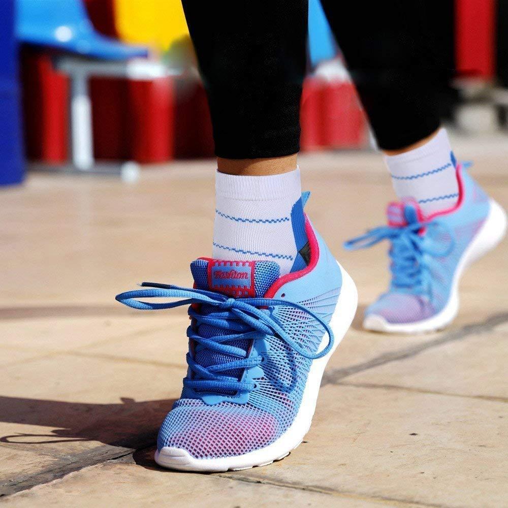 Women Compression Socks for Men/&Women 20-25 mmHg Graduated Nurse Compression Socks Men 20-30 mmHg-Best for Running,Medical,Athletic,Edema,Diabetic,Varicose Veins,Travel,Pregnancy,Shin Splints