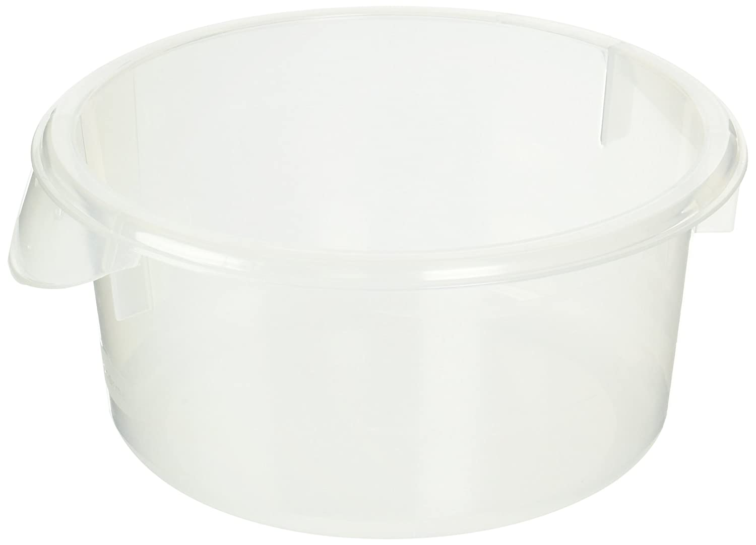 Rubbermaid Commercial Products Food Storage Container, 2 qt. (Pack of 12)
