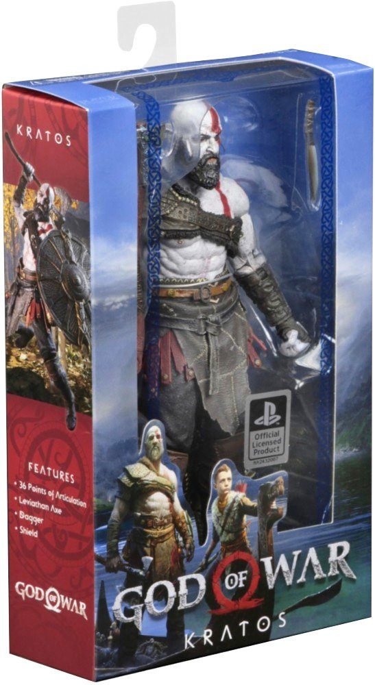 NECA God of War (2018) 7 Scale Action Figure 49323