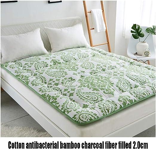 Colchón de Tatami de algodón y carbón de bambú, Estera de futón ...