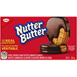 Christie Nutter Butter Fudge Covered Cookies with Real Peanut Butter, 223 Grams, Thanksgiving Cookies