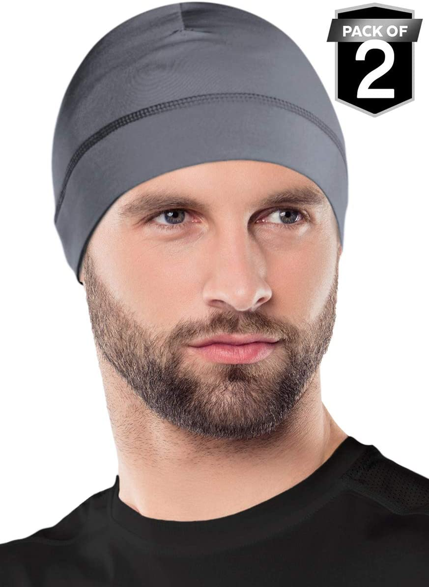 2-Pack Cycling Cap /& Winter Beanie for Men /& Women OutdoorEssentials Skull Cap//Helmet Liner//Running Hat Fits Under Helmets Ultimate Thermal Retention and Performance Moisture Wicking