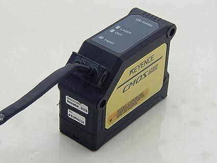 Keyence Gv-H450 Sensor Attached Gv-21P Sensor Amplifier Gv