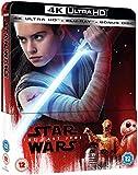 Star Wars The Last Jedi 4K Ultra HD Limited Edition Steelbook / Import / Includes Blu Ray / Region Free.