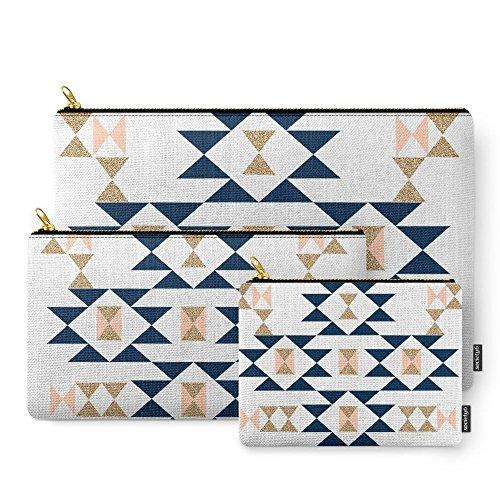 Society6 Jacs - Modern Pattern Design In Aztec Themed Pat...