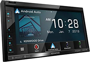 """Kenwood DNR-476R 6.8"""" Navigation Receiver w/Carplay & Android Auto"""