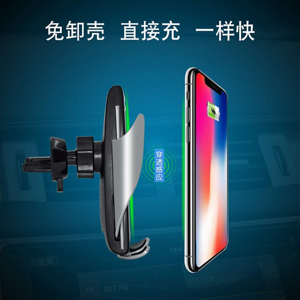 2019 Automatic Clamping Wireless Car Charger Mount