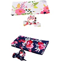 Prettyia 2X Baby Girls Boys Summer Blanket Newborn Wrap Sleeping Bag Swaddle Wrapped
