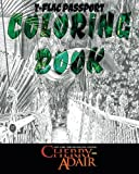 T-FLAC Passport Coloring Book