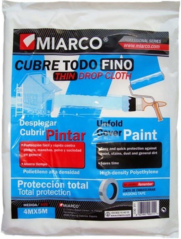 CUBRETODO PLASTICO 4740-4X5 FINO