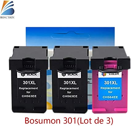 Pack de 3, 301 XL negro * 2 cartucho de tinta de color (última V1 ...