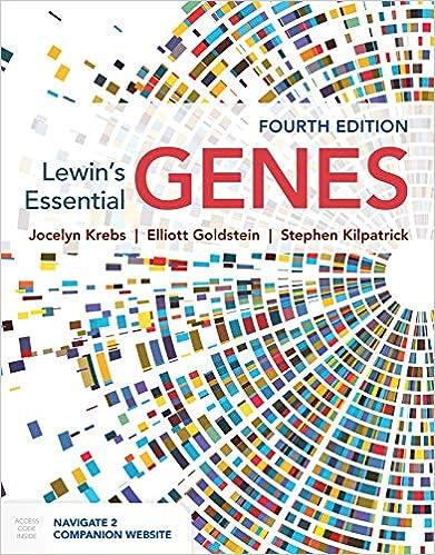 Lewin's Essential GENES, 4th Edition - Original PDF
