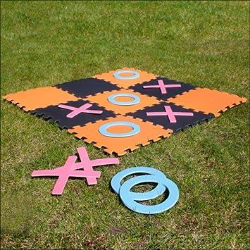 Tres en raya gigante – 94,5 x 94,5 cm: Amazon.es: Juguetes y juegos