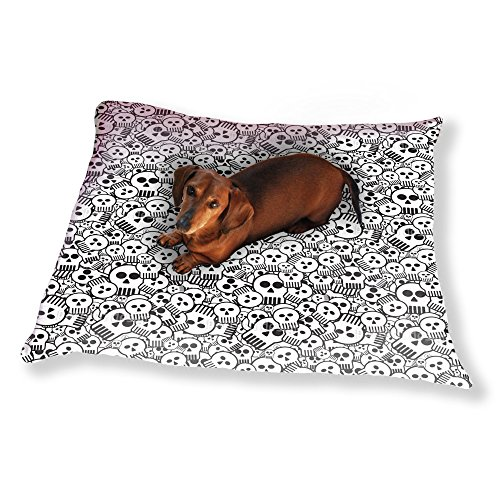 Come Sweet Skull Dog Pillow Luxury Dog / Cat Pet Bed