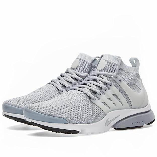 new product 2e07d 746ad Amazon.com   Nike Air Presto Flyknit Ultra Men s Shoes Wolf Grey Pure  Platinum White Black 835570-002 (13 D(M) US)   Fashion Sneakers
