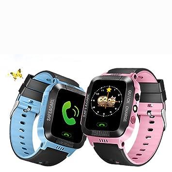 XuBa - Reloj Inteligente antipérdida con rastreador GPS para localización de Llamadas, Compatible con iPhone y Smartphones: Amazon.es: Informática