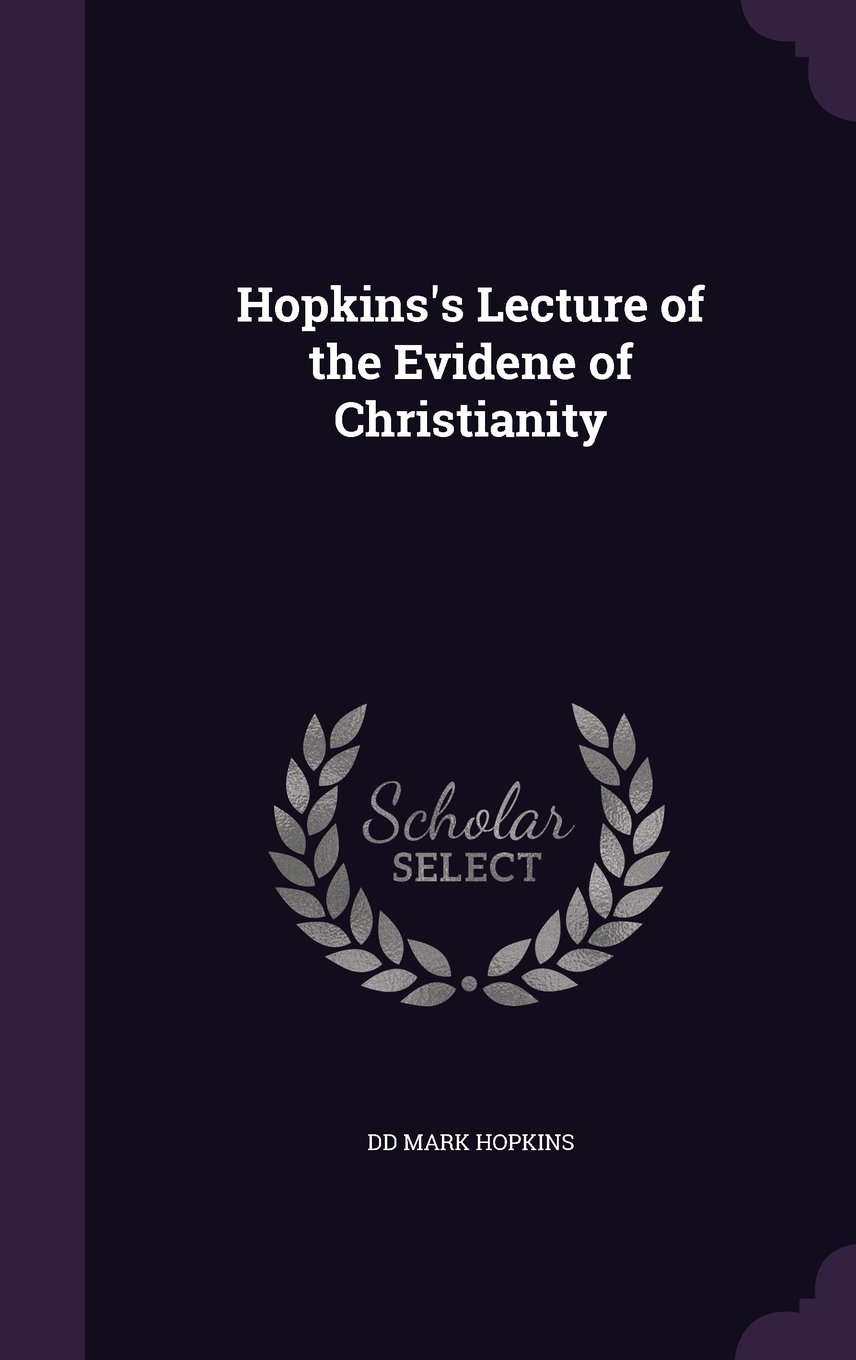 Hopkins's Lecture of the Evidene of Christianity pdf