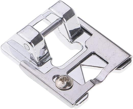 Pied presseur et de tressage pour machine /à coudre