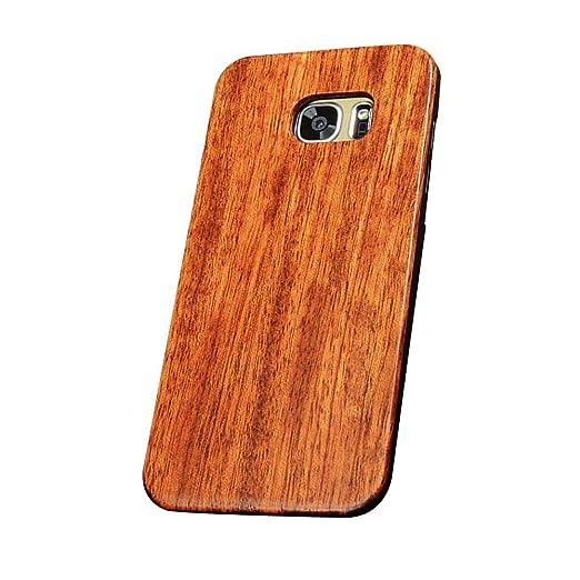 16 opinioni per Forepin® Vero Legno Legna Wood Cover Caso Con Plastica Telaio Custodia