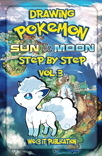 Drawing pokemon sun and moon step by step vol 3 how to draw pokemon character