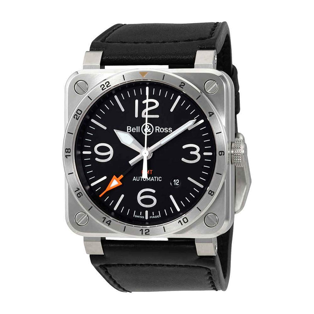 Bell & Ross Aviation BR0393-GMT-ST/SCA